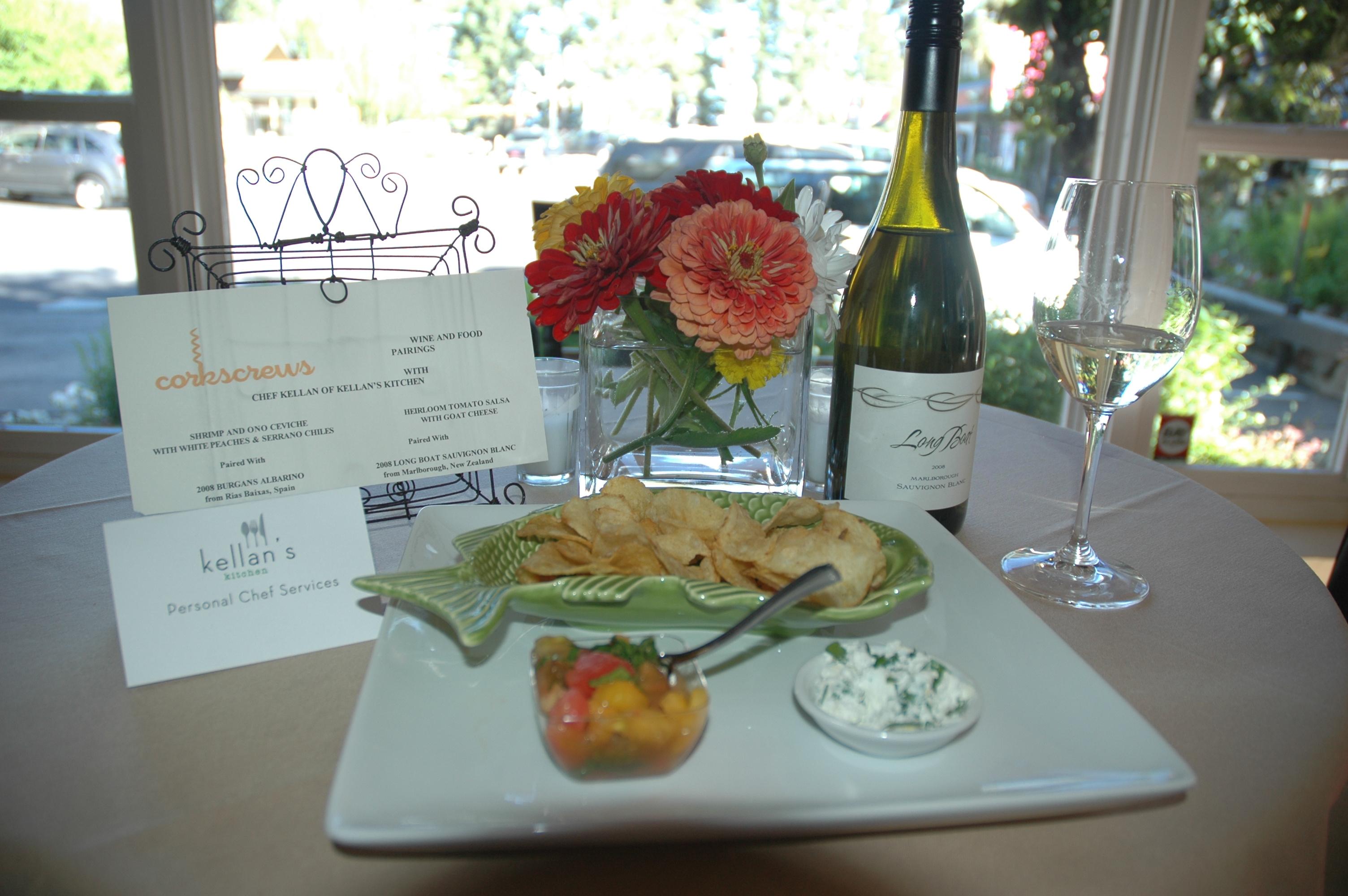 Uncorked Food & Wine Pairings - Kellan\'s Kitchen - Personal Chefs